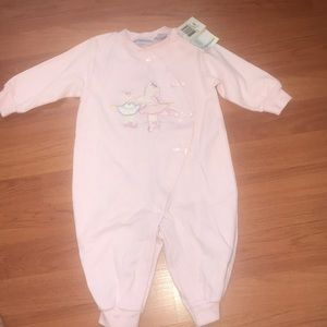 Baby one piece snap up suit